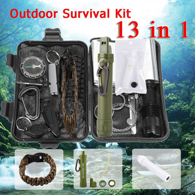 Multi function First Aid Outdoor & camping  Survival Kit - Affordable Travelgear