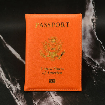 Personalised USA Passport Cover - Affordable Travelgear