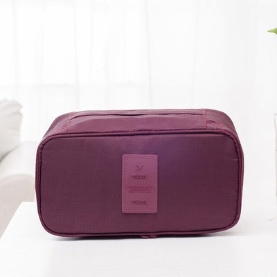 Portable Travel  Bra  & Underwear Organizer Box - Affordable Travelgear