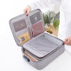 Multi Capacity Travel Document Organizer - Affordable Travelgear