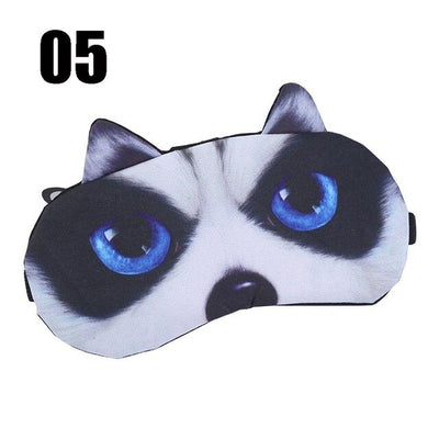 Cute Cat Sleep Mask - Affordable Travelgear