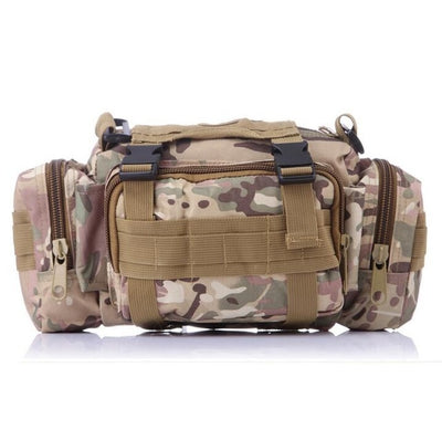 SINAIRSOFT High Quality Outdoor Military Tactical Backpack Waist Pack Waist Bag Mochilas Molle Camping Hiking Pouch 3P Chest Bag - Affordable Travelgear