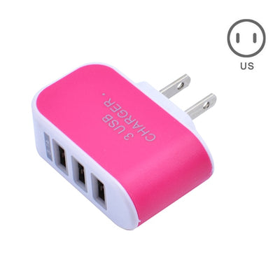 EU/US Plug Charger Station -3 Port USB -AC Power Charger Adapter - Affordable Travelgear