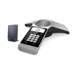Yealink CP930W-Base Conference DECT IP Phone and Base Station, 3.1-Inch Graphical Display. Battery-powered