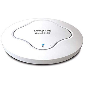 DRAYTEK VIGORAP910C 11AC DUAL-BAND CEILING-MOUNT WIRELESS ACCESS POINT