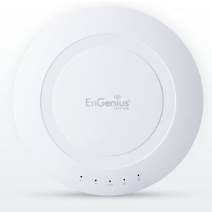 EnGenius 802.11ac 3x3 Dual Band, high-powered, long range, 28 dBm, Indoor Ceiling-Mount Wireless AP with integrated Antennas, gigabit port, (EAP1750H)