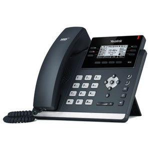 Yealink T41S IP Phone, 6 Lines. 2.7-Inch Graphical LCD. Dual-Port 10/100 Ethernet, 802.3af PoE