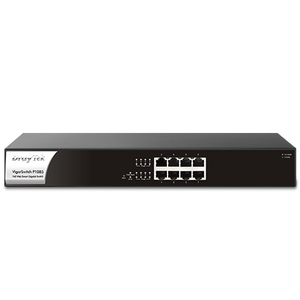 VigorSwitch P1085 8-Port Web Smart Gigabit PoE+ Switch