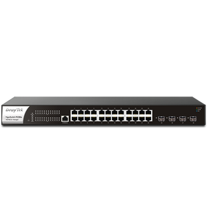 VigorSwitch P2280x 28-Port L2+ Managed 10G PoE Switch