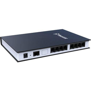 YEASTAR TA800 VoIP Gateway - 1 x RJ-45-8 x FXS - Fast Ethernet - Desktop, Rack-mountable