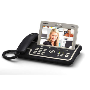 "Yealink IP Video Phone VP530 (7"" Touchscreen, HD Voice, 3-way Video Conferencing, POE, Power Supply Not Included)"