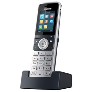 Yealink W53H Cordless DECT IP Phone, Base Station Not Included, 1.8-Inch Color Display. 10/100 Ethernet, 802.3af PoE, Power Adapter Included