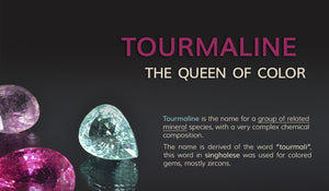Tourmaline: A multi Colored Gemstone