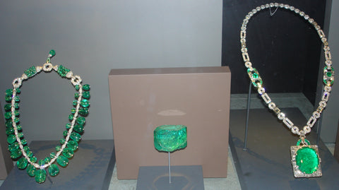 Mackay Emerald Necklace, Emerald Necklace and  Gachala Emerald