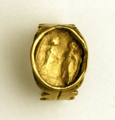 Roman wedding rings made of gold. II – III c.