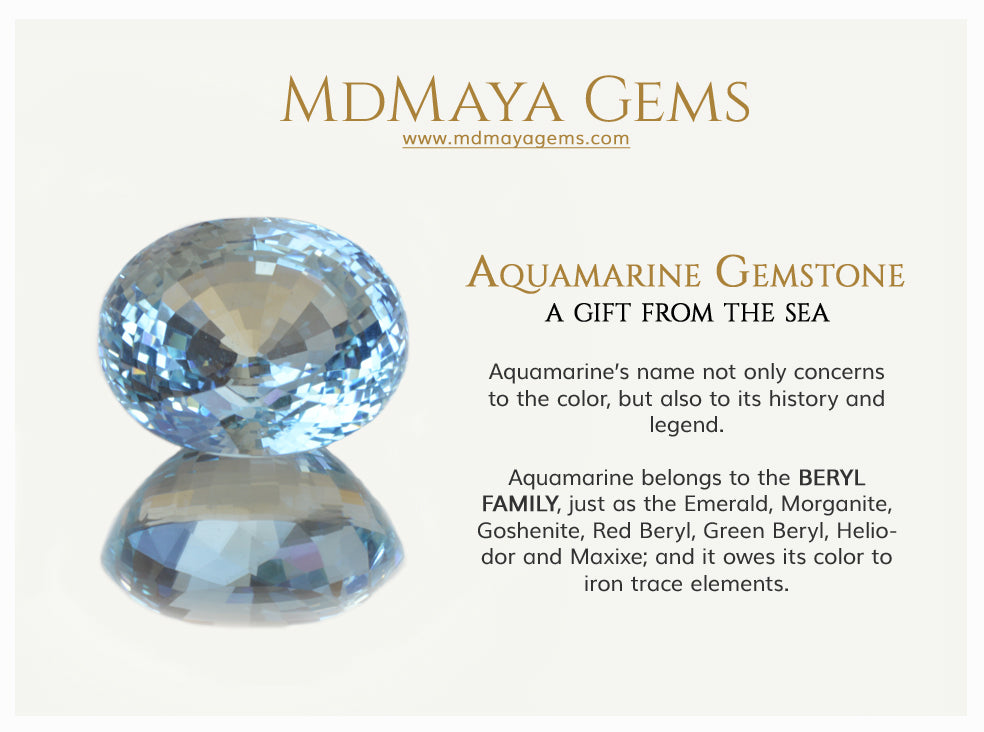 Aquamarine, Discover this beautiful blue gemstone