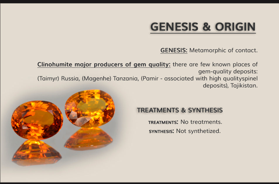 genesis and origin clinohumite