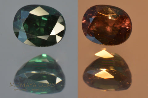Color Change Garnets at MdMaya Gems