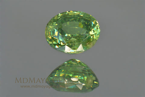 Demantoid Garnet 1.30 ct at MdMaya Gems
