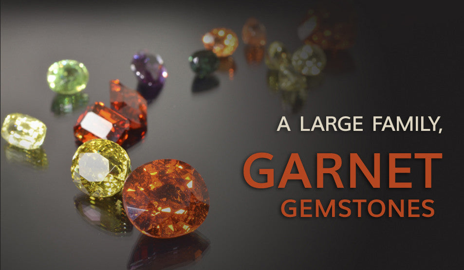 Information about Garnet Gemstones
