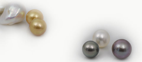 group of cultured pearls