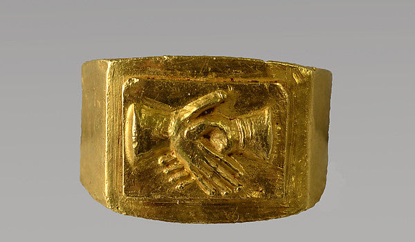 Roman Engagement Ring