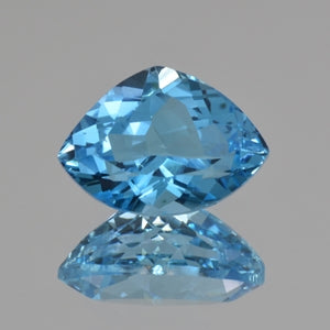 blue topaz fancy cut