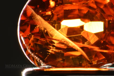 Inclusions in Spessartite Garnet