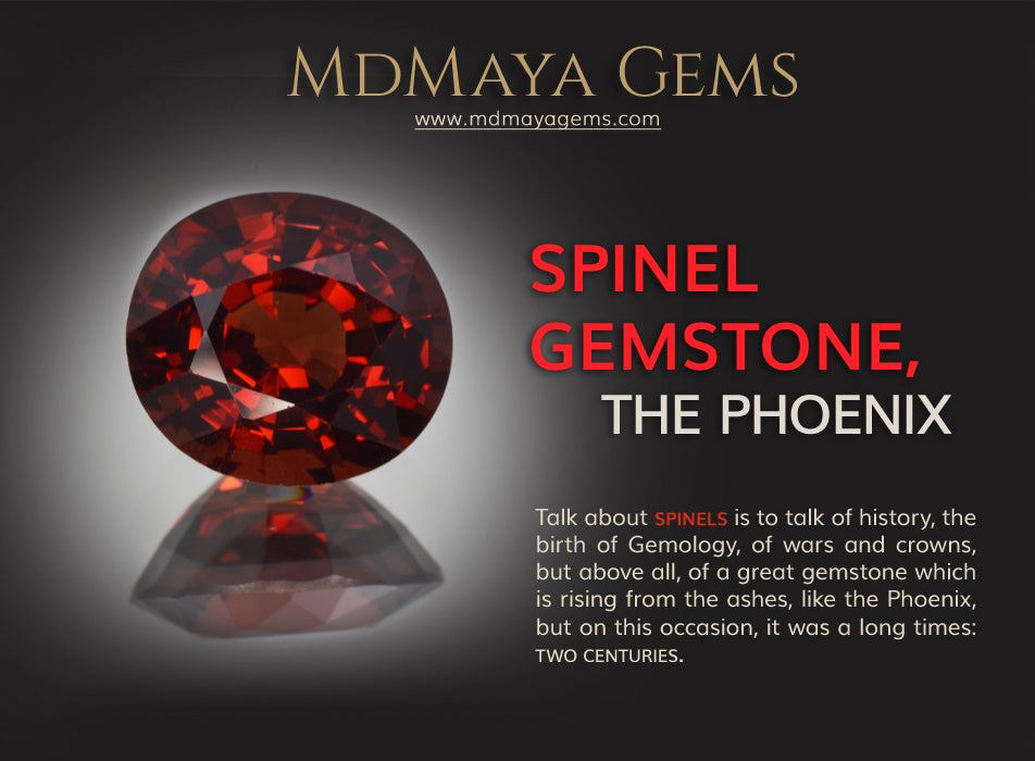 Spinel Gemstone, The Phoenix. More information about spinel gem