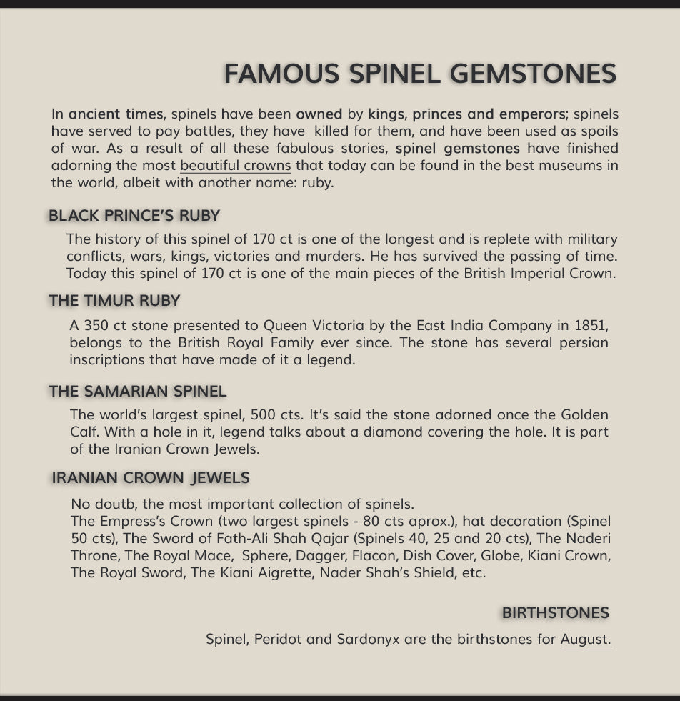 Famous Spinels