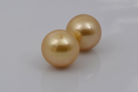 Golden South Sea Cultured Pearls at MdMaya Gems