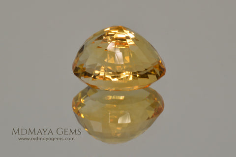 Citrine Gemstone 7.68 ct