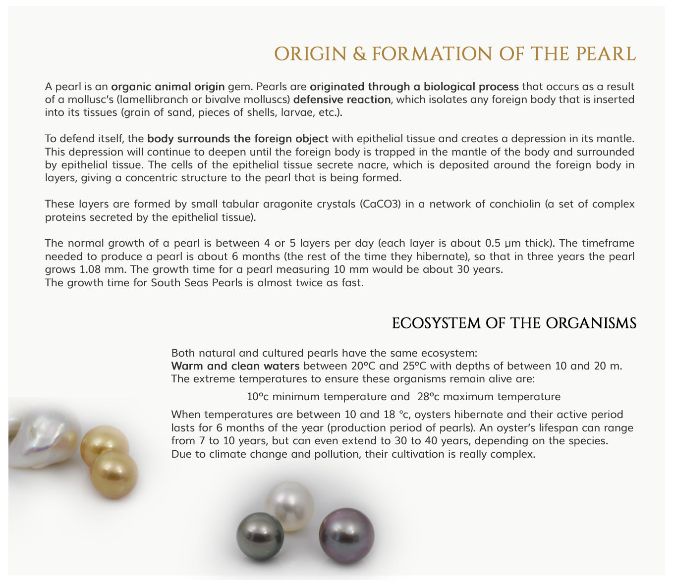 pearl origin and formation