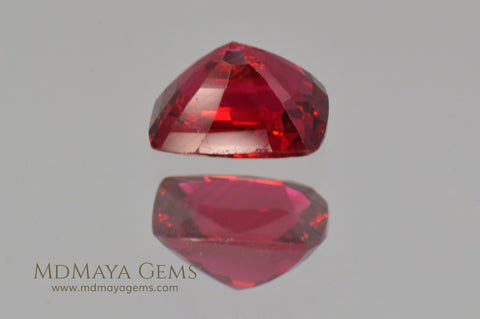 Red Burmese Spinel 0.92 ct