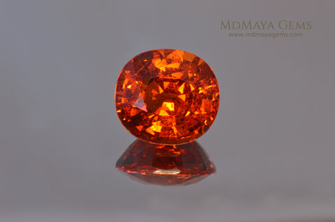 Spessartite Garnet 5.26 ct at MdMaya Gems
