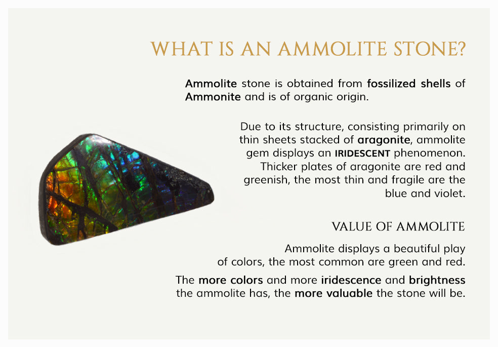 What is an ammolite stone?
