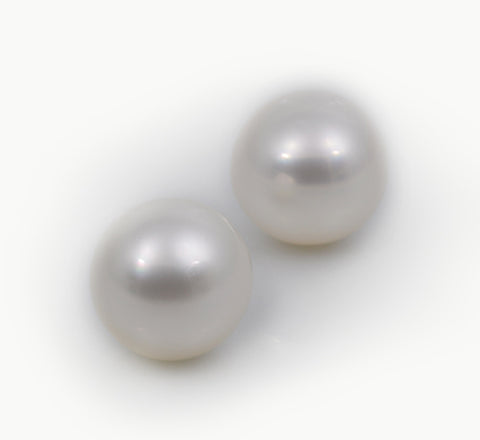 white south sea cultured pearls