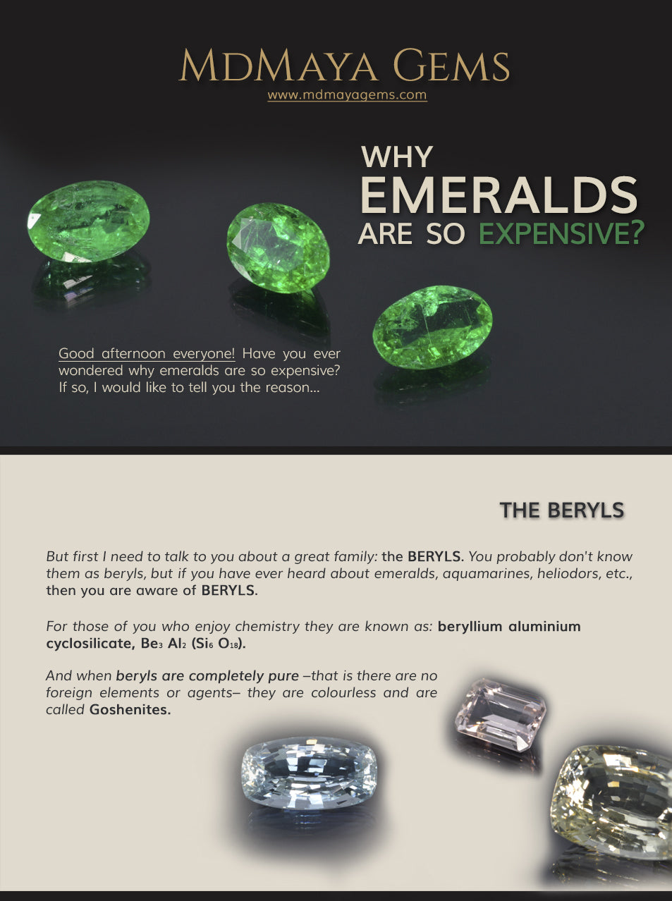 Why are emeralds so expensive? Discover it!