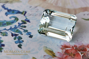 Light Blue Aquamarine. 19.63 ct.