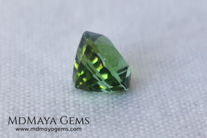 Bright Vivid Green Tourmaline 1.83 ct oval cut