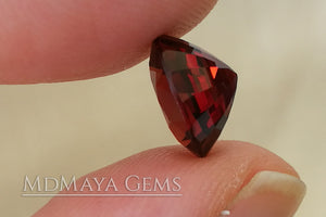 Red Burmese Spinel. Oval Cut. 3.18 ct.