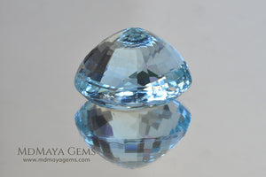 Large Aquamarine Oval cut 11.20 ct