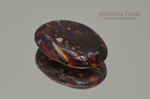 Top Koroit Boulder Opal 15.23 ct, double sided