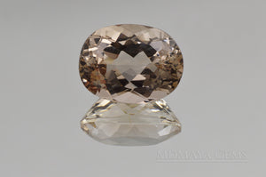 Sparkling Light Brown Topaz 22.35 ct perfect for an engagement ring