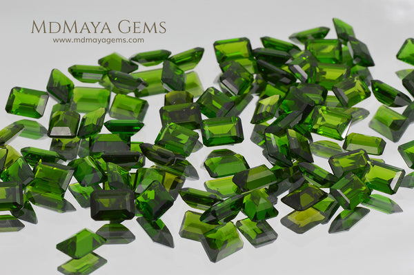 Chrome Diopside Gemstone Russian Green Diopside 63