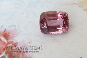 Lustrious Pink Spinel Cushion Cut 1.68 ct