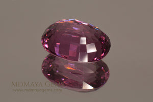 Deep Pink Spinel Oval Cut 2.47 ct