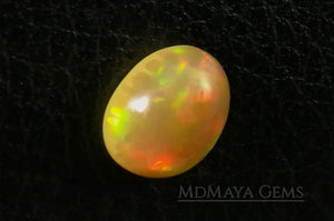 This Welo Opal 1.66  ct shows an interesting honeycomb pattern by one side