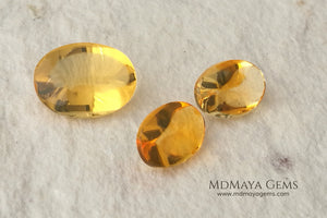 Fire Opal set. The perfect combination for your bespoke jewelry. 6.38 ct.