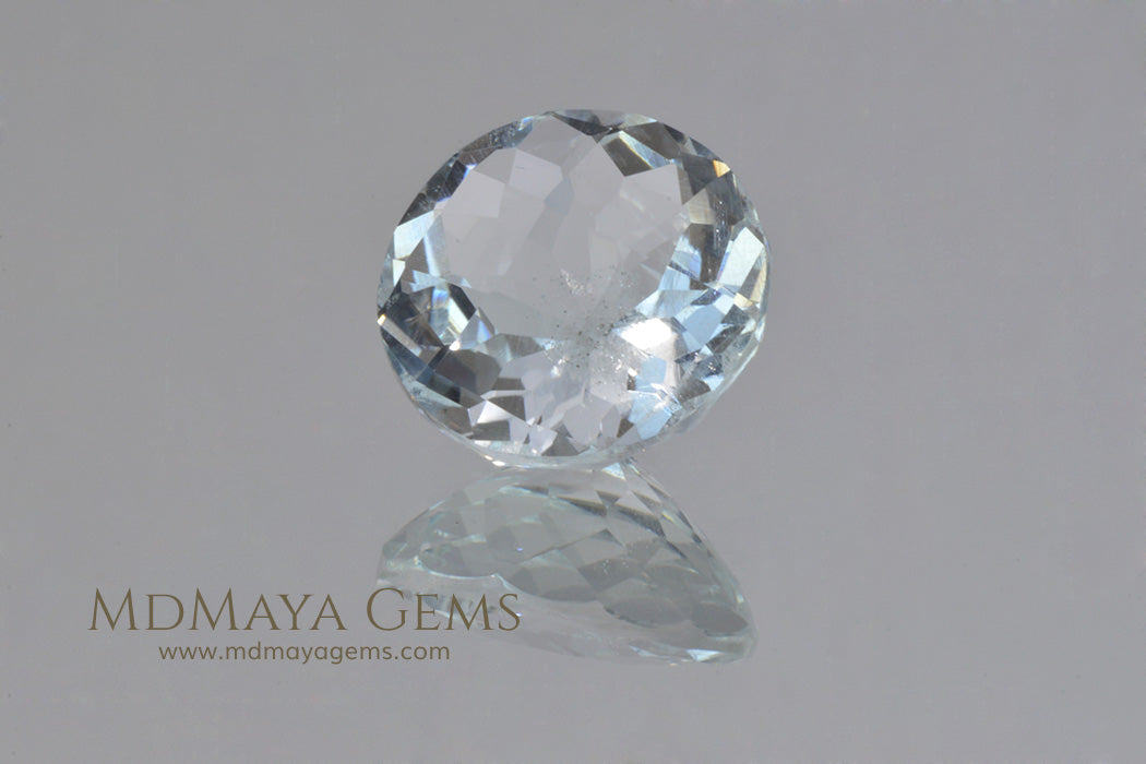 Goshenite Beryl Round cut 6.00 ct